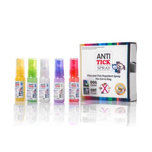 Antitick Spray Kemasan Packed