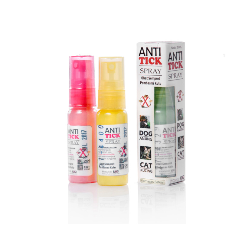 Antitick Spray Kemasan Satuan 20mL